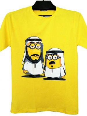 تیشرت مینیون زرد